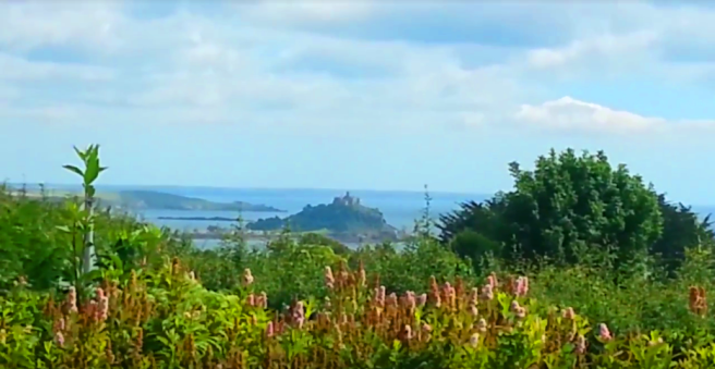 View of St Michaels Mount