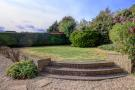 Raised tier rear garden