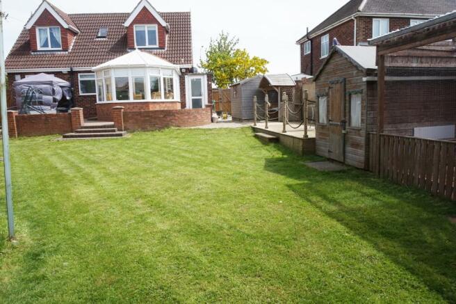 Rear View of Garden