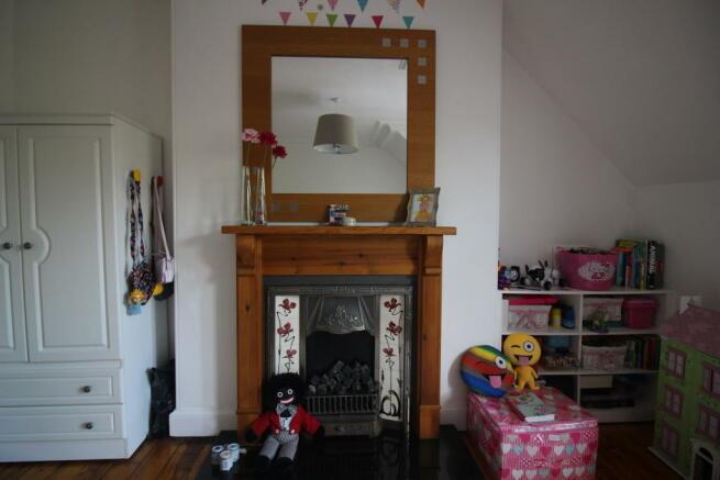 Feature Fire in second bedroom.JPG