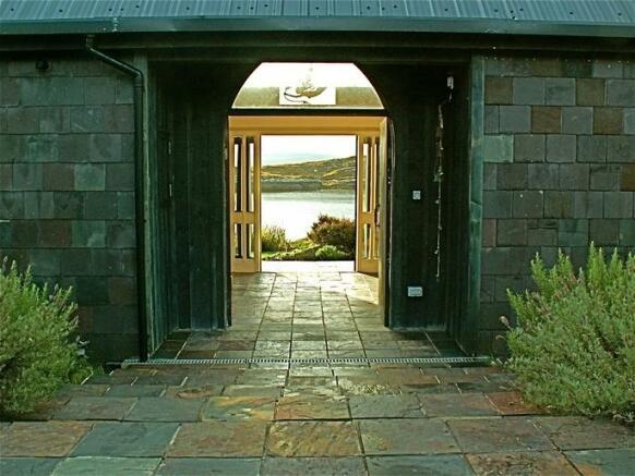 Entrance to Atrium