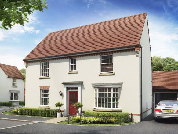 Castle Hill David Wilson Homes, Layton house type