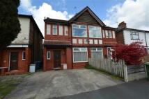 semi detached home to rent in Victoria Road, Urmston