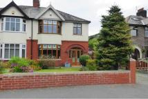 semi detached house in St Helens Road, Rainford