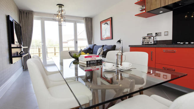 designer dining room in Apperley Bridge