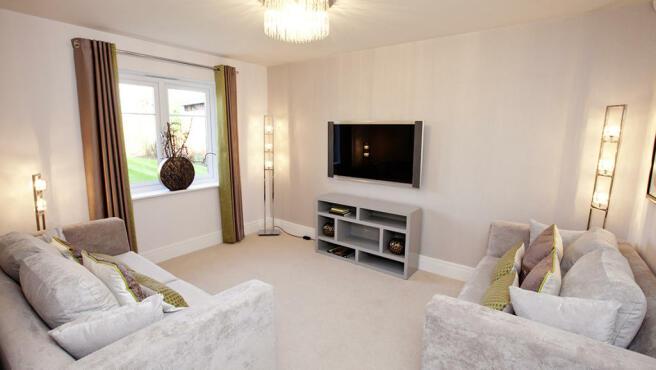 Living room in Apperley Bridge