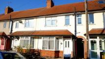 Terraced house in Park Road, Wigston...