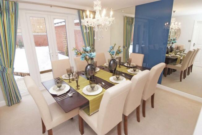 Similar David Wilson Show Home Dining Room