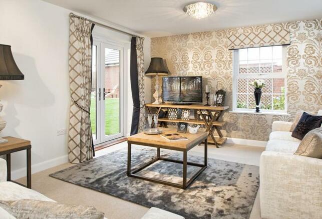 Avondale Show Home Living Room