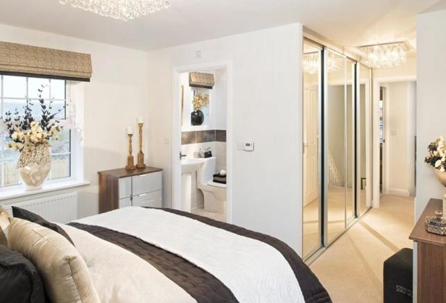 Avondale Show Home Bedroom and En Suite