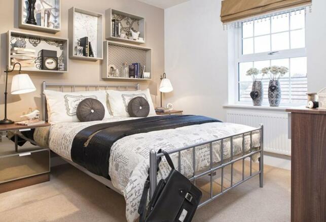 Avondale Show Home Bedroom