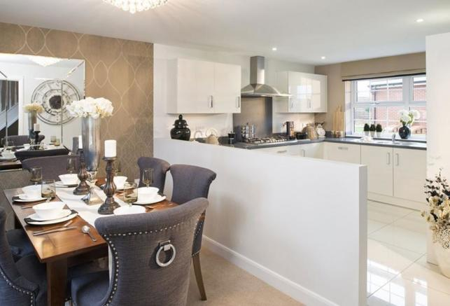 Avondale Show Home Kitchen/Dining