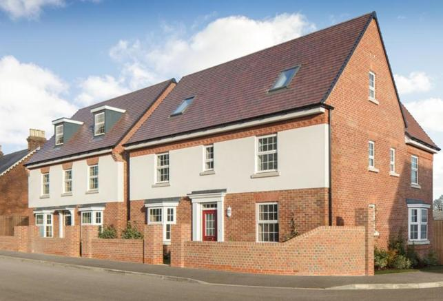 Canterbury Park New Homes Development By David Wilson