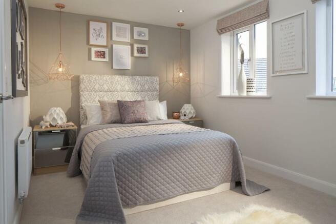 Similar David Wilson Show Home Bedroom