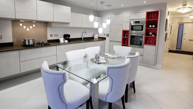 Typical Dining & Kitchen Area