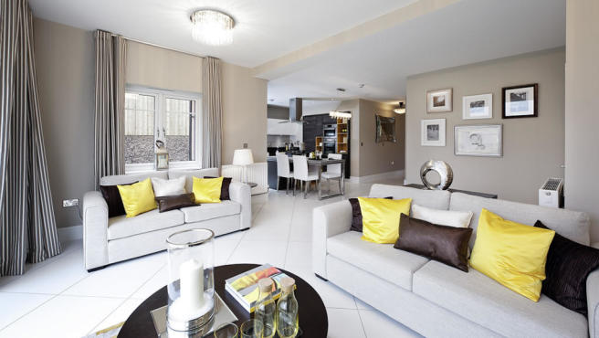 Family room The Cotham Avant Homes