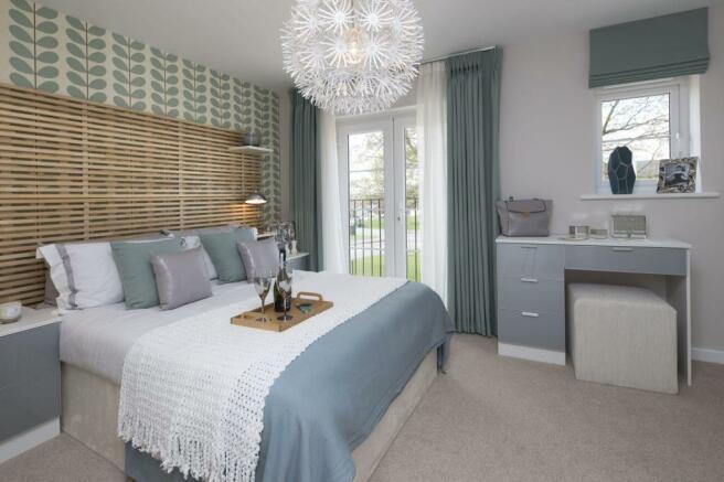 Tavistock master bedroom