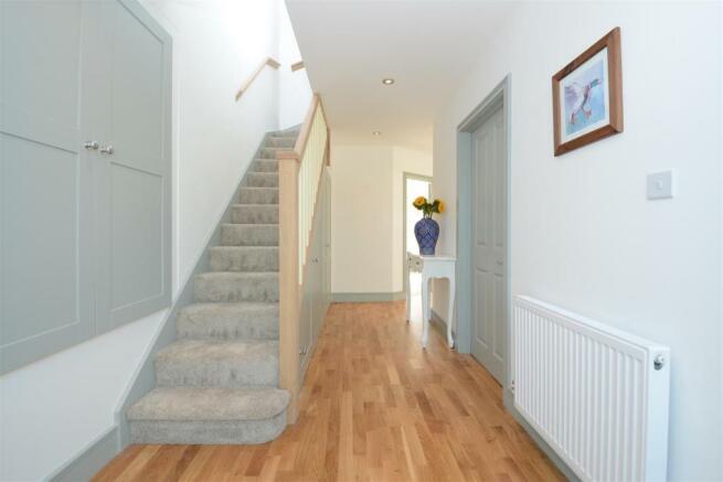 Hallway with underst