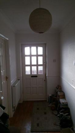 Front door internal.