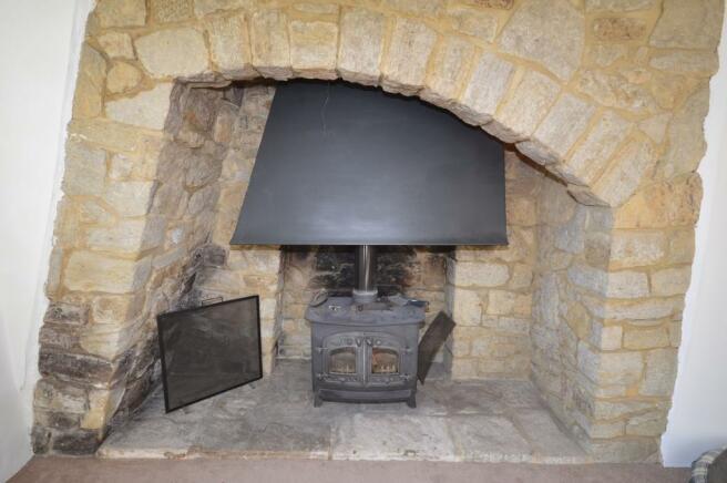 Log burner Bungalow