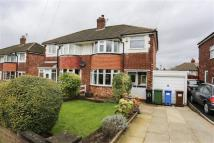 3 bedroom semi detached property in Norbury Drive, Marple...