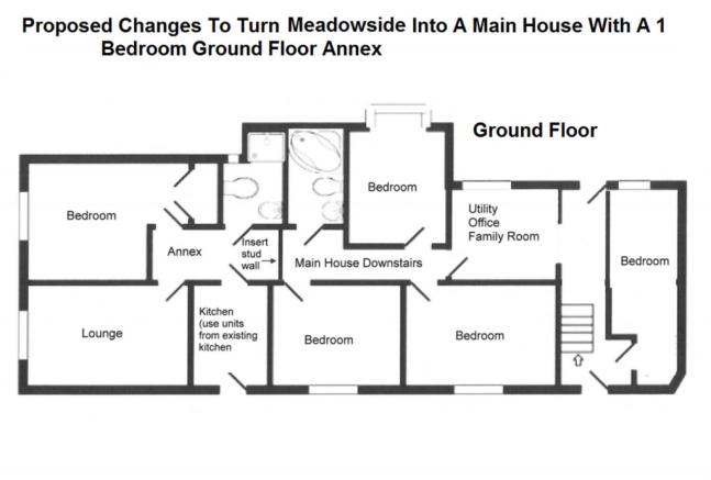 Ground Floor - Main House With 1 Bedroom Ground Fl