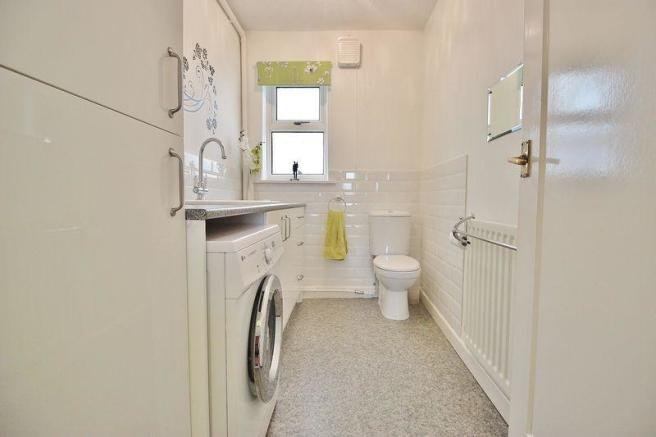 Utility Room/WC