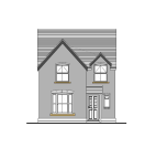 3 bed new house for sale in Birches Road, Codsall...