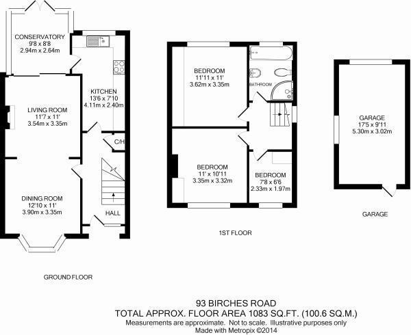 Floor plan - Birches