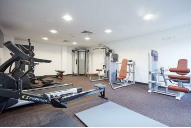complex gym area