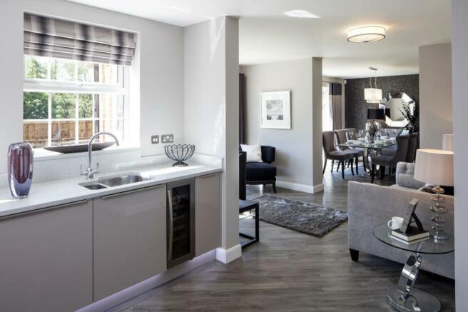 The Arbury Kitchen/Family Area