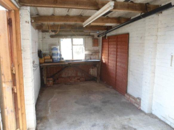 Inside Garage.