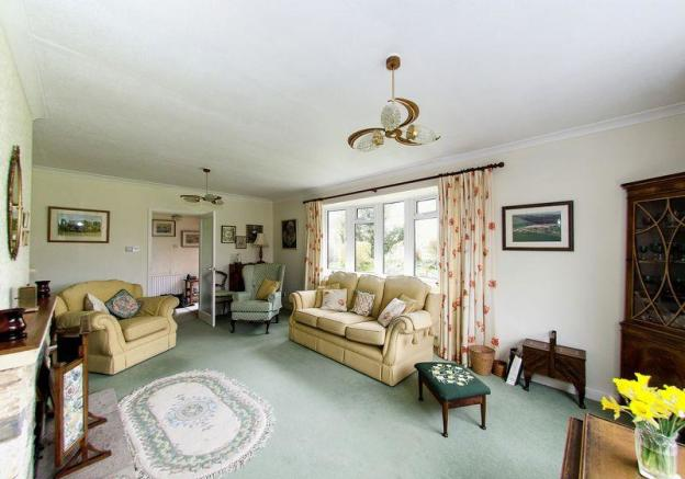 living room as...