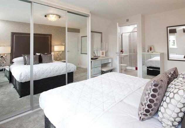 Harborough double bedroom