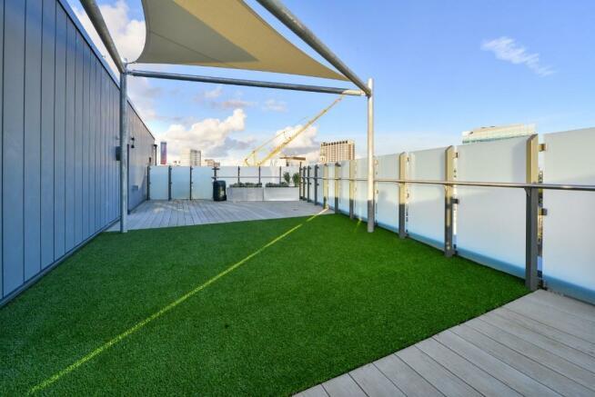 12th floor terrace