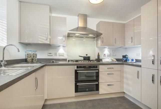 Coledale Show Home Kitchen