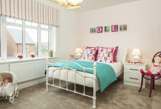 Coledale Show Home Master Bedroom