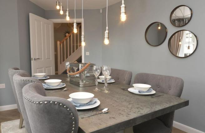 Previous Ashtree Show Home Dining Room