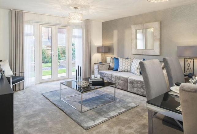 Coledale Show Home Lounge/Dining Room