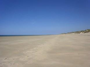 Typical local beach