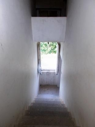 Staircase to attic