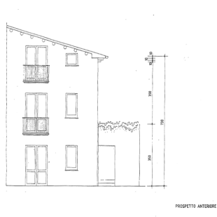 Front view plan