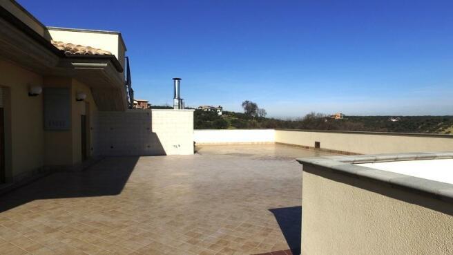 Apartment's terrace