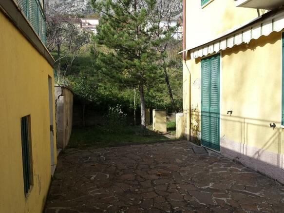 Private outside area