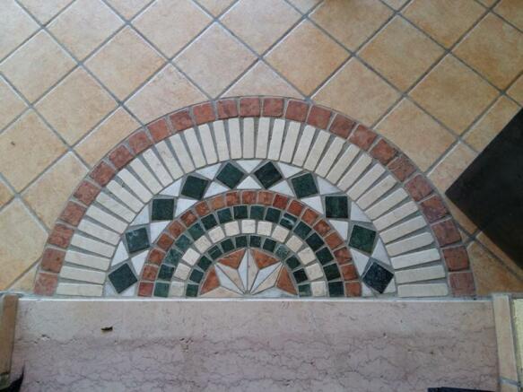 Extern. floor detail
