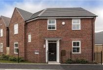 new home for sale in Burnby Lane Pocklington...