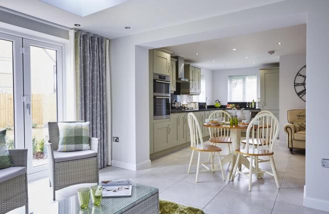 Bowbrook Meadows Alnwick with orangery leading to the kitchen and breakfast area