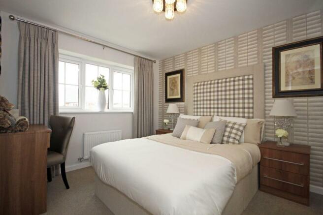 Typical Guisborough third bedroom