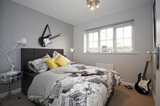 Typical Guisborough fourth bedroom