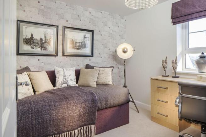 Typical Warwick third bedroom